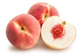 white- fleshed peach